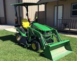 Tractor For Sale: 2014 John Deere 1025R, 25 HP