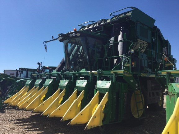 2016 John Deere CP690 Cotton Picker For Sale