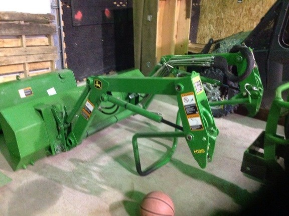2014 John Deere H120 Front End Loader Attachment For Sale