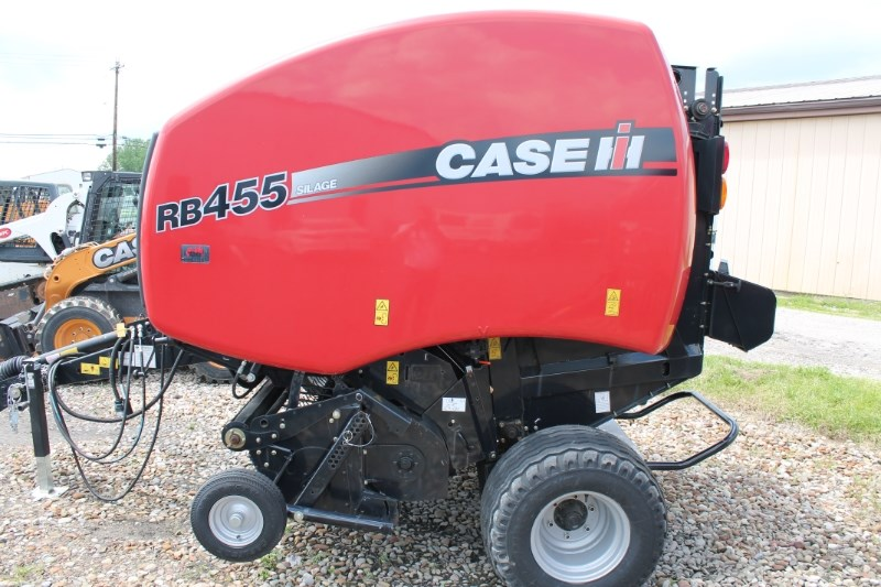 2015 Case IH RB455 Baler-Round For Sale
