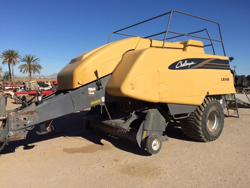 2008 Challenger LB34B Baler-Square For Sale