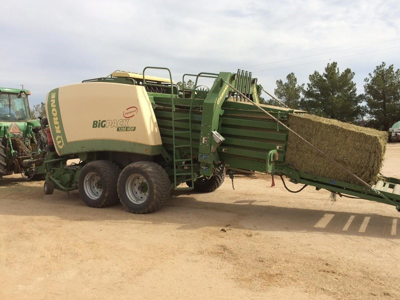 2013 Krone BP1290HDP Baler-Square For Sale