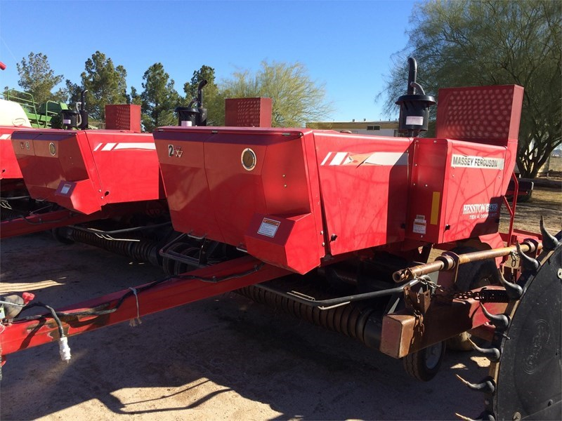 2013 Massey Ferguson 1843S Baler-Square For Sale