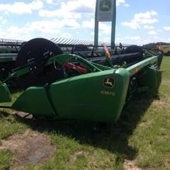 Header-Flex/Draper For Sale:  2015 John Deere 635FD