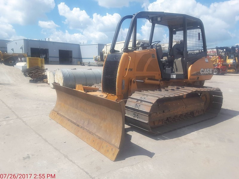 2007 Case 850K Crawler Tractor For Sale