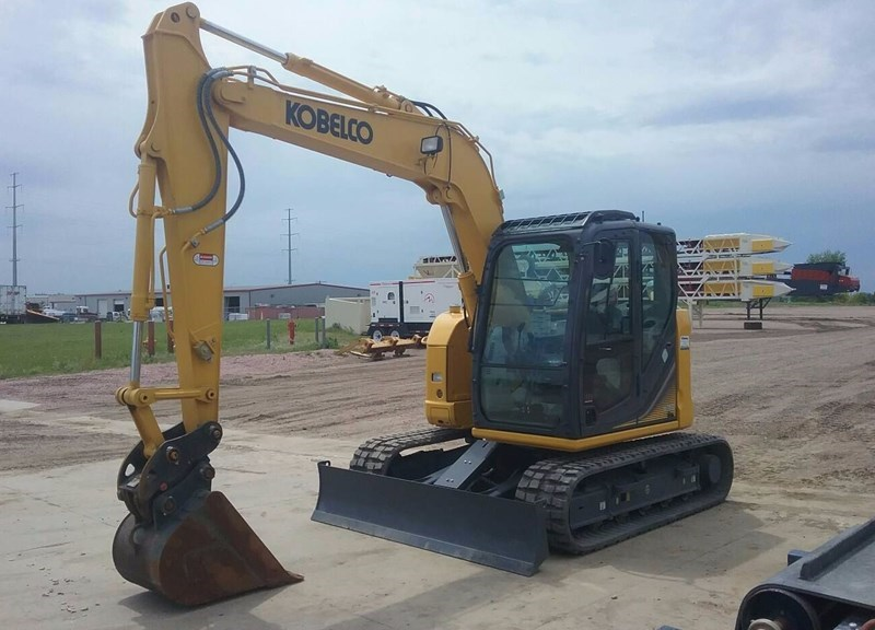 2017 Kobelco SK85CS-3E Excavator Mini For Sale