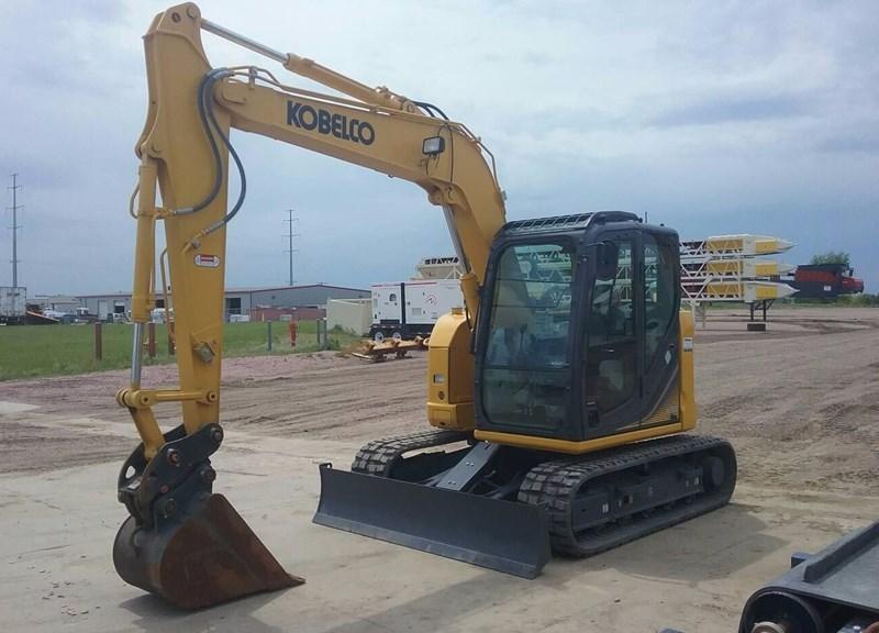 2017 Kobelco SK85CS-3E Excavator For Sale