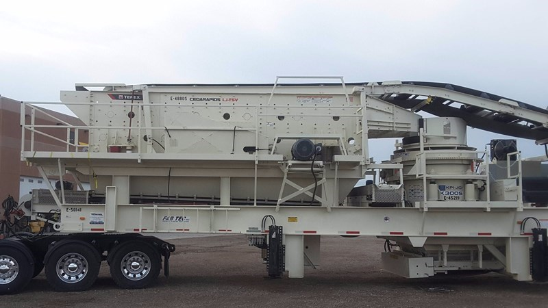 2017 FABTEC 1313 Crusher - Cone For Sale