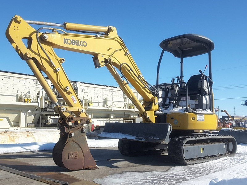 2017 Kobelco SK30SR-6E Excavator Mini For Sale