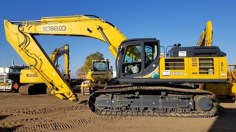 2016 Kobelco SK500LC-10 Excavator For Sale