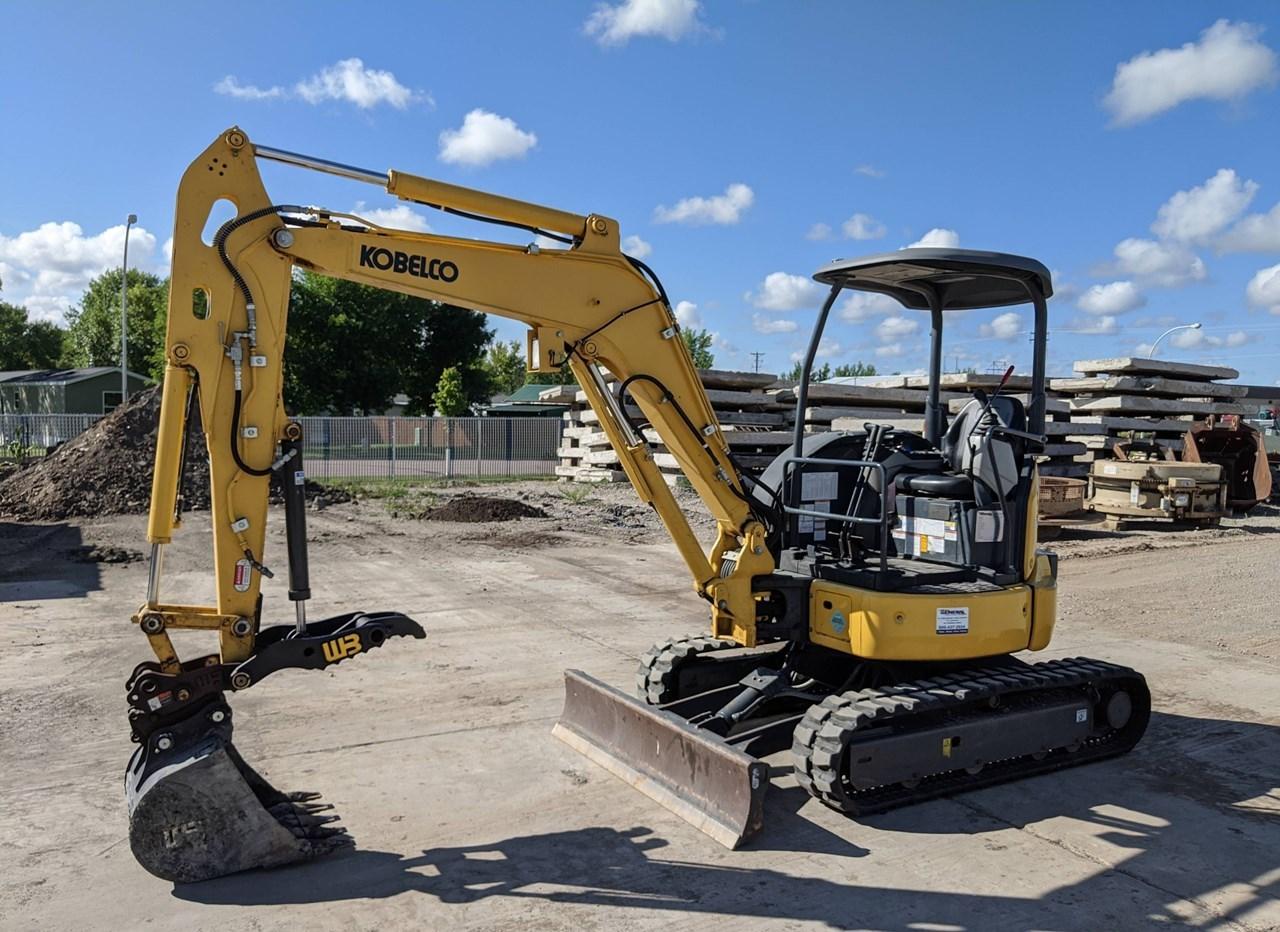 2017 Kobelco SK35SR-6E Excavator Mini For Sale