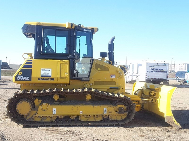 2017 Komatsu D51PX-24 Crawler Tractor For Sale