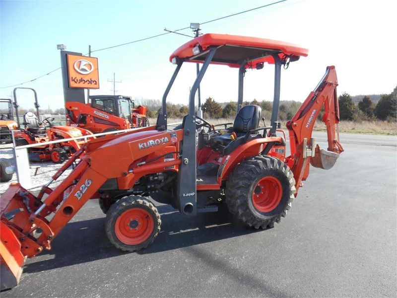 2013 Kubota B26 Loader Backhoe For Sale