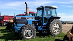 Tractor For Sale 1992 Ford 8730 , 140 HP