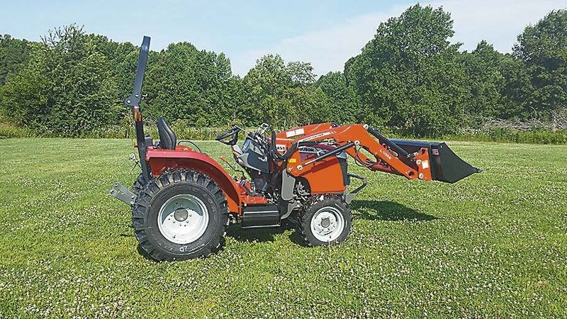 2016 Massey Ferguson 2706E Tractor For Sale