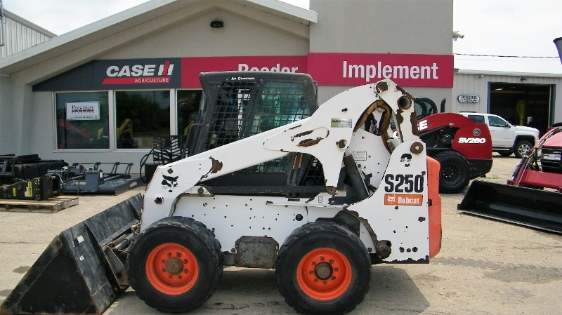 2011 Bobcat S250 Skid Steer For Sale