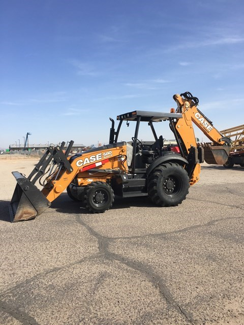2017 Case 580SN Loader Backhoe