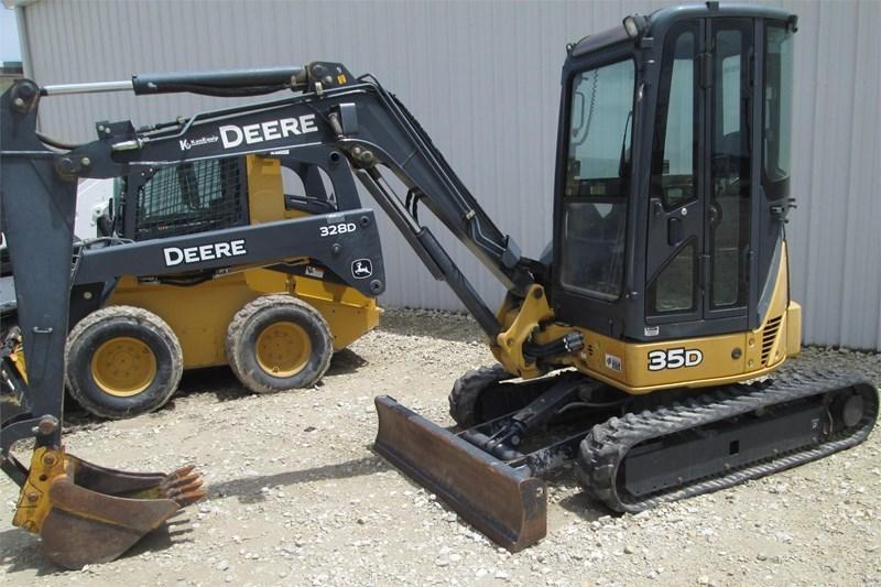 2008 John Deere 35D Excavator-Mini For Sale