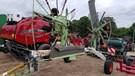 Hay Rake-Wheel For Sale:  2002 Claas 1550