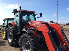 Tractor For Sale 2010 Case IH PUMA 155 & CIH L760 LOADER , 155 HP