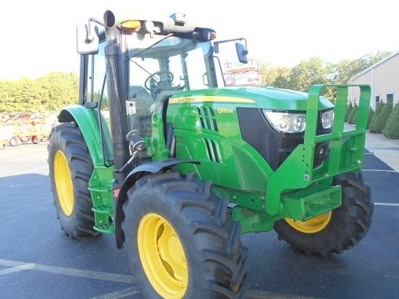 2015 John Deere 6105M Tractor For Sale
