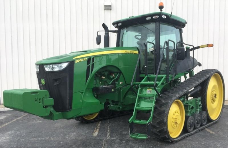 2014 John Deere 8360RT Tractor For Sale