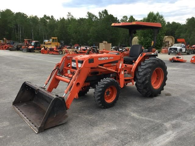 2001 Kubota L3710GST Tractor For Sale