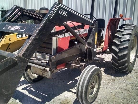1985 Massey Ferguson 283 Tractor For Sale