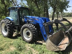 Tractor For Sale 2007 New Holland TS130A , 115 HP