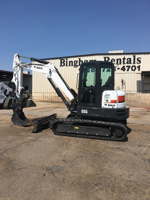 Bobcat E55 T4 Excavator-Track