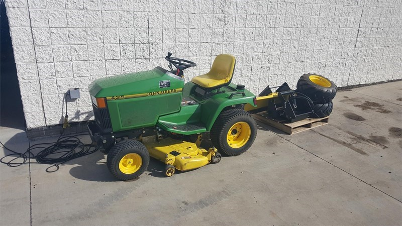 John Deere 425 Riding Mower For Sale