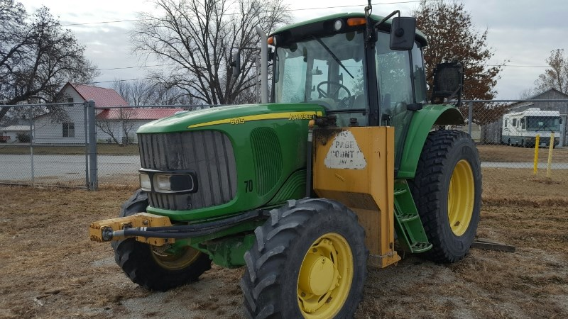 2004 John Deere 6615 Tractor For Sale