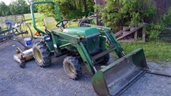 Tractor For Sale 1986 John Deere 755 , 27 HP