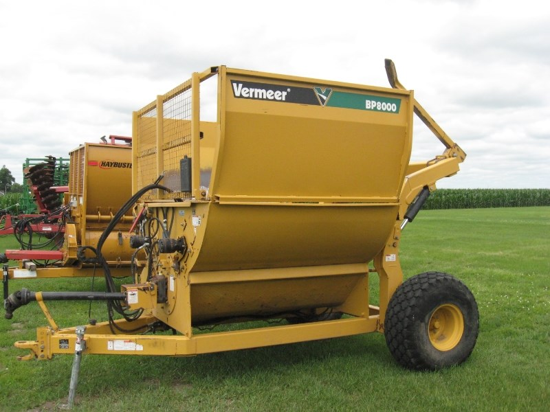 Vermeer BP8000 Tub Grinder - Feed/Hay For Sale