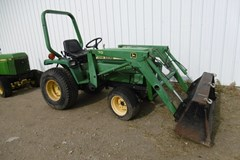 Tractor For Sale 1993 John Deere 755 , 20 HP
