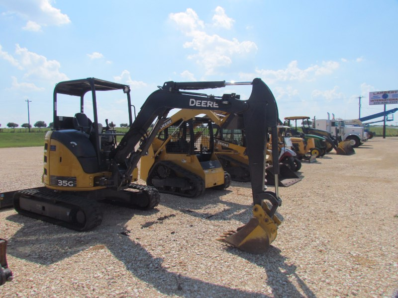 2016 John Deere 35G Excavator-Mini For Sale