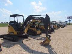 Excavator-Mini For Sale:  2016 John Deere 35G