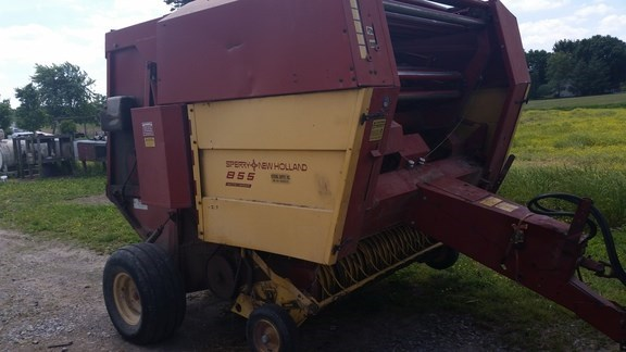 1985 New Holland 855 Baler-Round For Sale