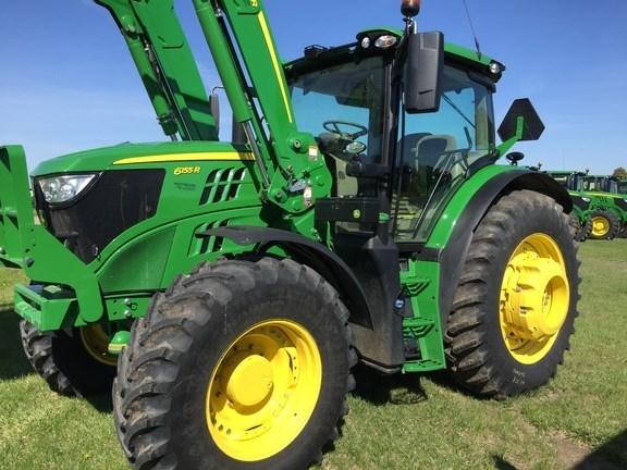 2016 John Deere 6155R Tractor For Sale