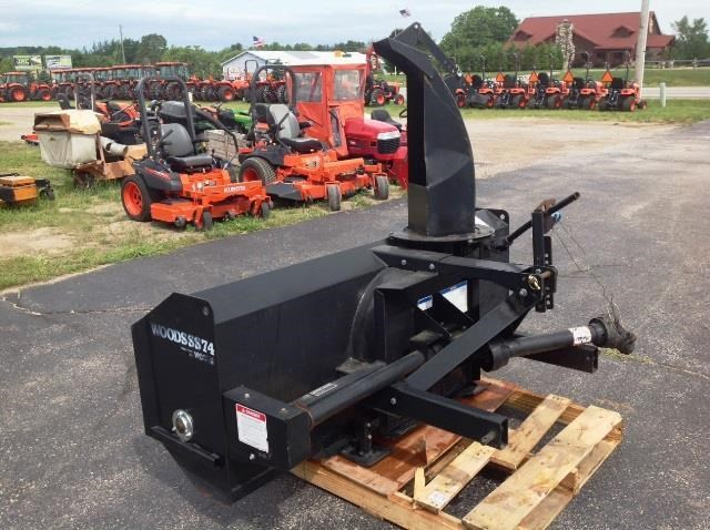 Woods SS74 Snow Blower For Sale