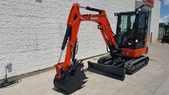 Excavator-Mini For Sale 2018 Kubota KX033-4 , 25 HP