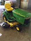 Riding Mower For Sale:   John Deere LX255 , 15 HP
