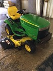 Riding Mower For Sale:   John Deere LX280 , 18 HP