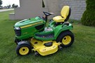 Riding Mower For Sale:  2013 John Deere X758 , 24 HP