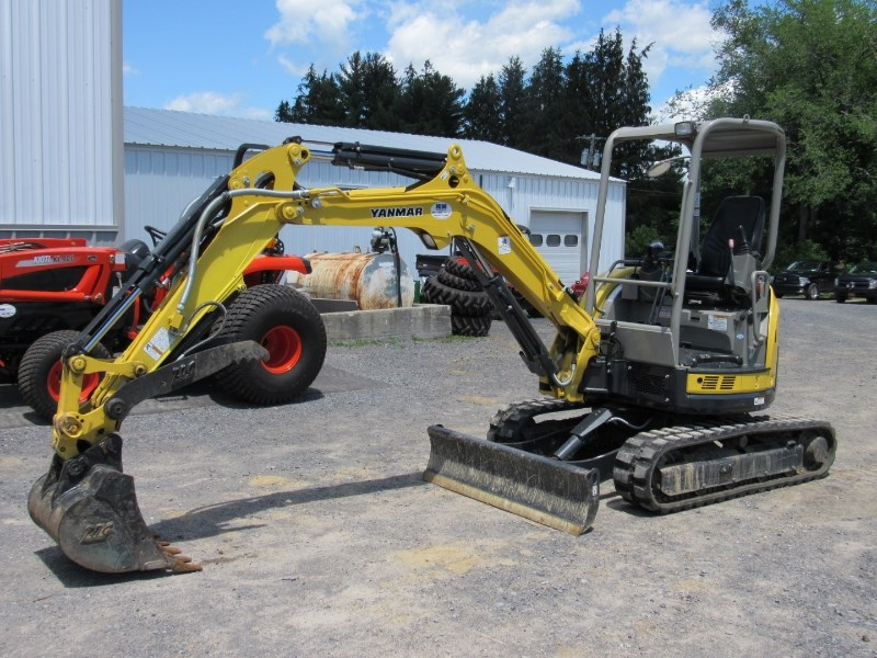 Yanmar VIO35 5B Excavator-Mini For Sale