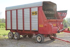 Forage Box-Wagon Mounted For Sale 2014 H & S Twin Auger HD