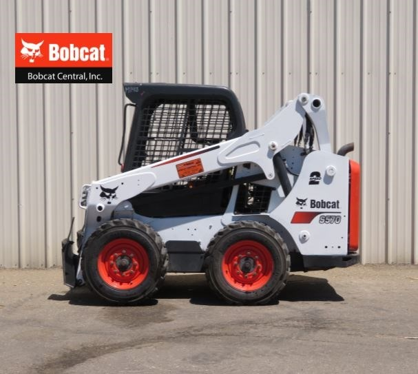 2014 Bobcat S570 Skid Steer For Sale