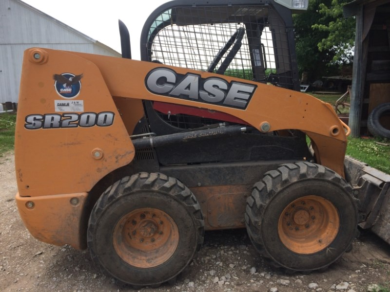 2012 Case SR200 Skid Steer For Sale