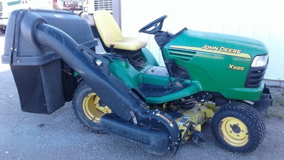 John Deere X585 Riding Mower For Sale