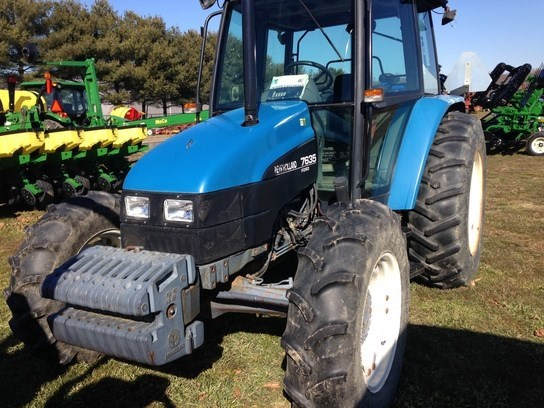 1998 New Holland 7635 Tractor For Sale